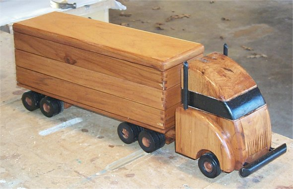 Woodworking wooden truck PDF Free Download